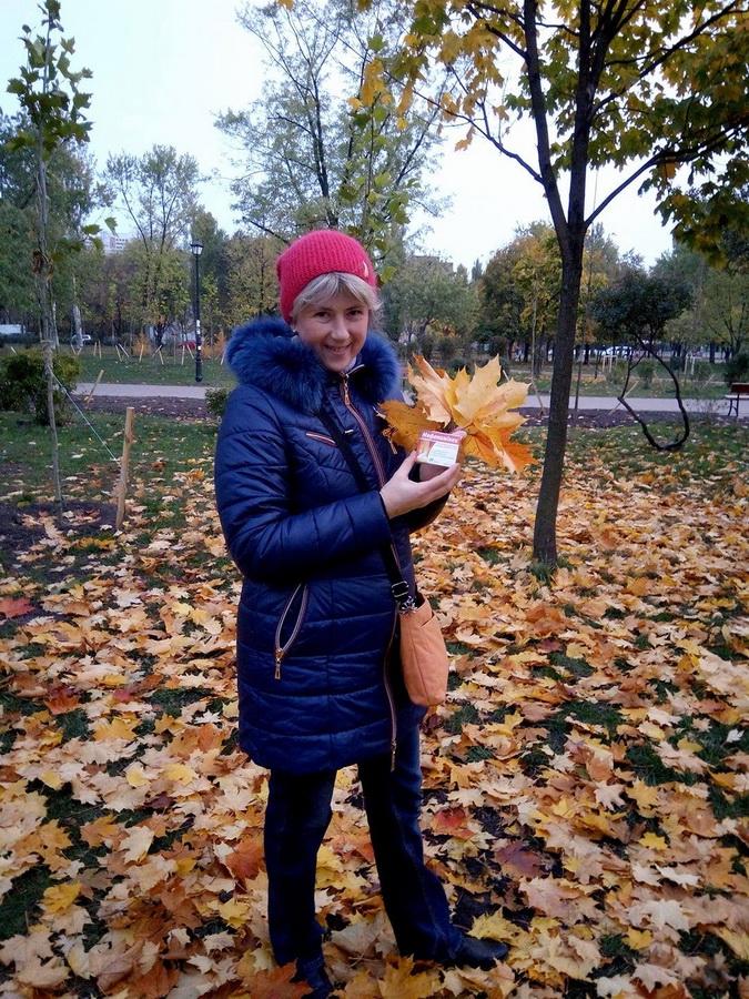 Елена, в процессе оформления на работу, Киев