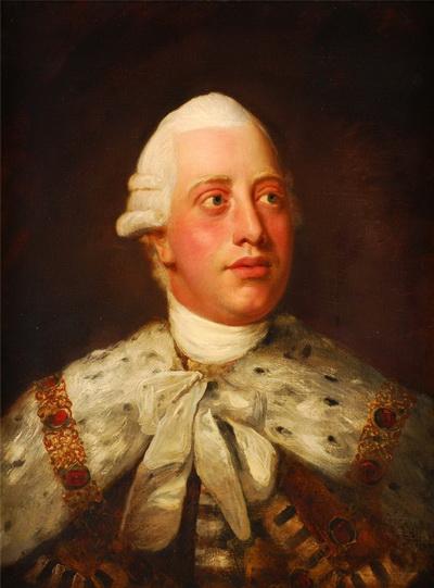 Георг III - король Великобритании и Ирландии, правил с 1760 по 1820
