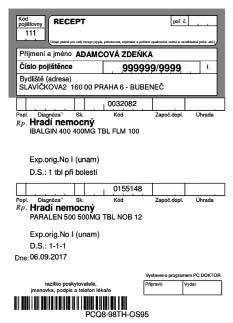 Електронний рецепт (ЧР)