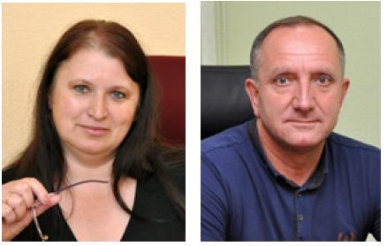 Людмила Мельниківська та Віктор Янчук