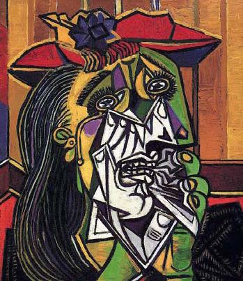 Пабло Пікассо. Жінка, яка плаче. 1937 г.