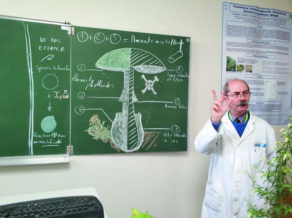 Жан-Филипп Рию рассказывает о токсичных свойствах мухомора