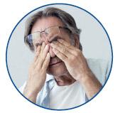 головний біль через окуляри