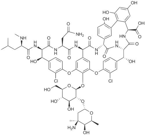 Структура ванкоміцину