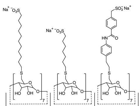 Структура модифікованих циклодекстринів